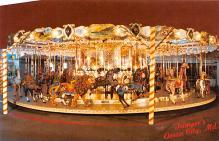 cir007275 - Newly Restored 1902 Herchel - Spellman Antique Carousel Trimper's Amusements, Ocean City Maryland, USA  Post Card