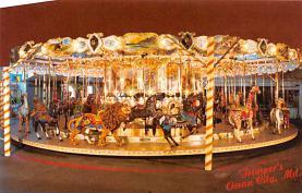 cir007275 - Newly Restored 1902 Herchel - Spellman Antique Carousel Trimper's Amusements, Ocean City Maryland, USA  Post Card