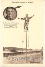 cir008001 - Luciano, Unique au Monde Circus Postcard Post Card