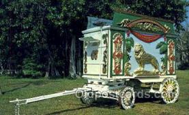 cir050012 - Sarasota Florida USA  Ringling Museum of the Circus Old Vintage Antique Post Card Postcard