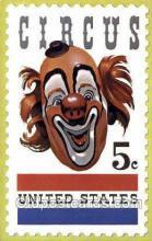 cir050026 - Delavan, Wisconsin, USA American Circus Stamp Old Vintage Antique Post Card Postcard