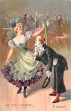 cir100685 - Circus Clowns Acts Old Vintage Post Cards