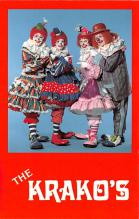 cir100697 - Circus Clowns Acts Old Vintage Post Cards