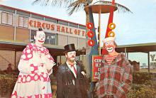 cir100719 - Circus Clowns Acts Old Vintage Post Cards