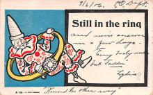 cir100739 - Circus Clowns Acts Old Vintage Post Cards