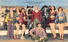 cir100745 - Circus Clowns Acts Old Vintage Post Cards
