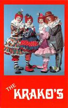 cir100771 - Circus Clowns Acts Old Vintage Post Cards