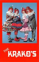 cir100783 - Circus Clowns Acts Old Vintage Post Cards