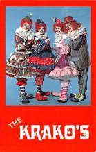 cir100793 - Circus Clowns Acts Old Vintage Post Cards