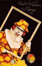 cir100801 - Circus Clowns Acts Old Vintage Post Cards