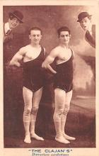 cir100869 - Circus Acts Post Cards