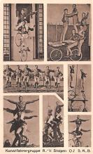 cir100895 - Circus Acts Post Cards