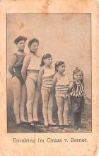 cir100899 - Circus Acts Post Cards