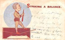 cir100901 - Circus Acts Post Cards