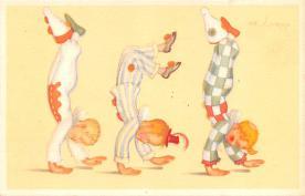 cir100903 - Circus Acts Post Cards