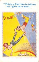 cir100911 - Circus Acts Post Cards