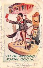 cir101125 - Circus Acts Post Cards