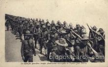 civ001044 - Les premiers trups American debarquess en France ( June 1917) Military, War, Postcard Post Card