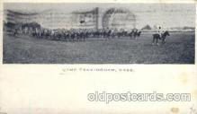 civ001066 - Camp Framingham, Mass., Massachusetts, USA Military, War, Postcard Post Card
