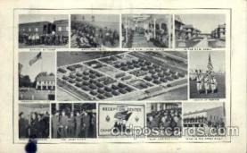 civ001072 - Recruit reception center Military, War, Postcard Post Card