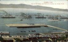 civ001090 - Gibraltttar Military, War, Postcard Post Card