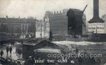 civ001094 - Feed the guns Military, War, Postcard Post Card
