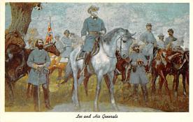civ002013 - Civil War Post Card Old Vintage Antique Postcard