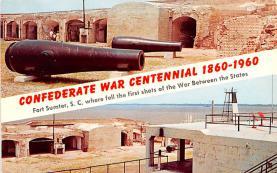 civ002119 - Civil War Post Card Old Vintage Antique Postcard