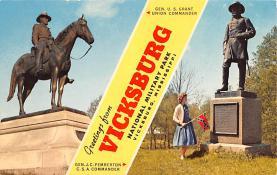 civ002125 - Civil War Post Card Old Vintage Antique Postcard