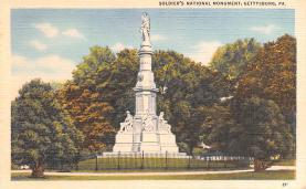 civ002139 - Civil War Post Card Old Vintage Antique Postcard