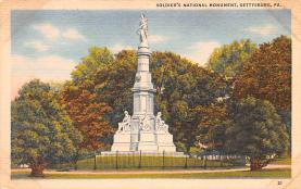 civ002141 - Civil War Post Card Old Vintage Antique Postcard