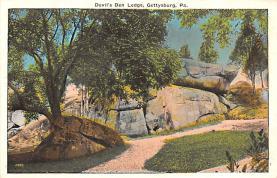 civ002165 - Civil War Post Card Old Vintage Antique Postcard