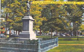 civ002193 - Civil War Post Card Old Vintage Antique Postcard