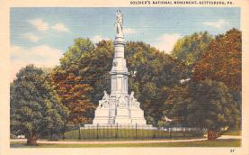 civ002197 - Civil War Post Card Old Vintage Antique Postcard