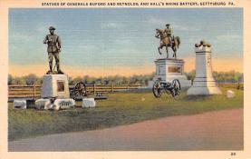 civ002201 - Civil War Post Card Old Vintage Antique Postcard