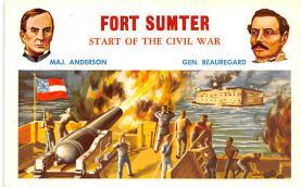 civ002221 - Civil War Post Card Old Vintage Antique Postcard