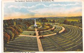 civ002227 - Civil War Post Card Old Vintage Antique Postcard