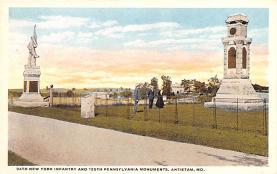 civ002241 - Civil War Post Card Old Vintage Antique Postcard