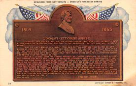civ002257 - Civil War Post Card Old Vintage Antique Postcard