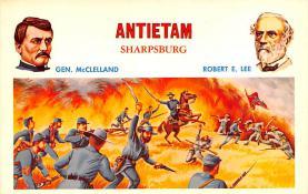 civ002259 - Civil War Post Card Old Vintage Antique Postcard