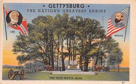 civ002293 - Civil War Post Card Old Vintage Antique Postcard