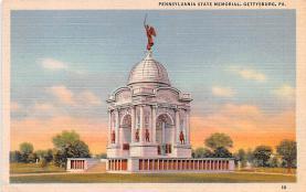 civ002309 - Civil War Post Card Old Vintage Antique Postcard