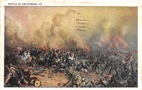 civ002369 - Civil War Post Card Old Vintage Antique Postcard