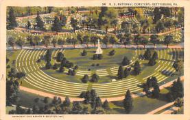 civ002539 - Civil War Post Card Old Vintage Antique Postcard