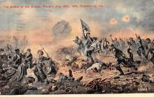 civ002551 - Civil War Post Card Old Vintage Antique Postcard
