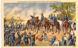 civ002553 - Civil War Post Card Old Vintage Antique Postcard