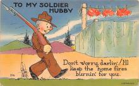 civ002617 - Civil War Post Card Old Vintage Antique Postcard