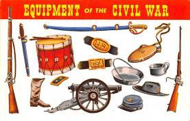 civ002679 - Civil War Post Card Old Vintage Antique Postcard