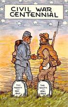 civ002687 - Civil War Post Card Old Vintage Antique Postcard