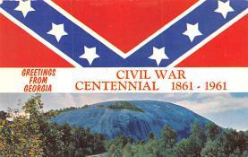 civ002729 - Civil War Post Card Old Vintage Antique Postcard